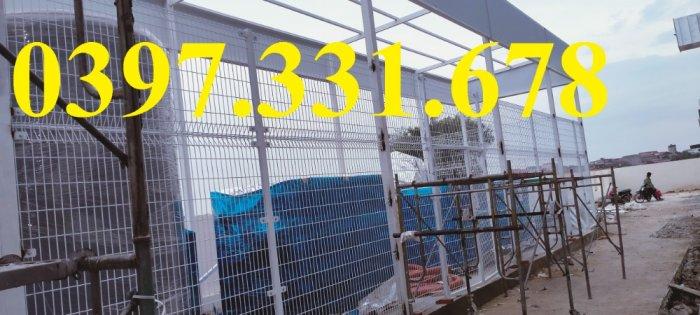 Chuyên sản xuất và thi công vách ngăn kho, hàng rào bốt điện giá sỉ0