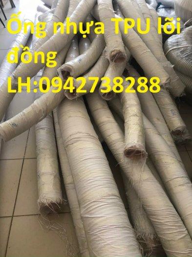 Bán ống nhựa PU lõi thép mạ đồng phi 200 hàng có sẵn, giao hàng toàn quốc2