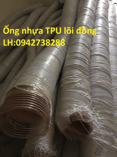 Bán ống nhựa PU lõi thép mạ đồng phi 200 hàng có sẵn, giao hàng toàn quốc1