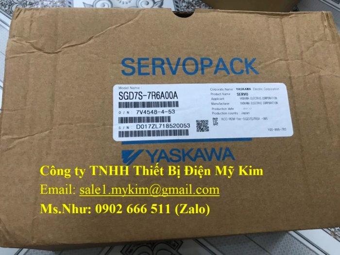 Servo Drive Yaskawa SGD7S-7R6A00A chính hãng - Thiết Bị Điện Mỹ Kim3
