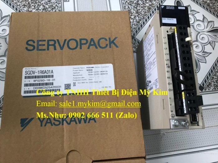 Servo Drive Yaskawa SGDV-1R6A01A chính hãng - Thiết Bị Điện Mỹ Kim1