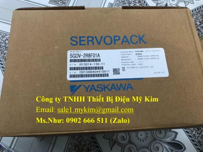 Servo Drive Yaskawa SGDV-2R8F01A chính hãng - Thiết Bị Điện Mỹ Kim1