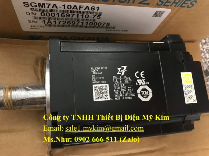 Servo Drive Yaskawa SGM7A-10AFA61 chính hãng - Thiết Bị Điện Mỹ Kim2
