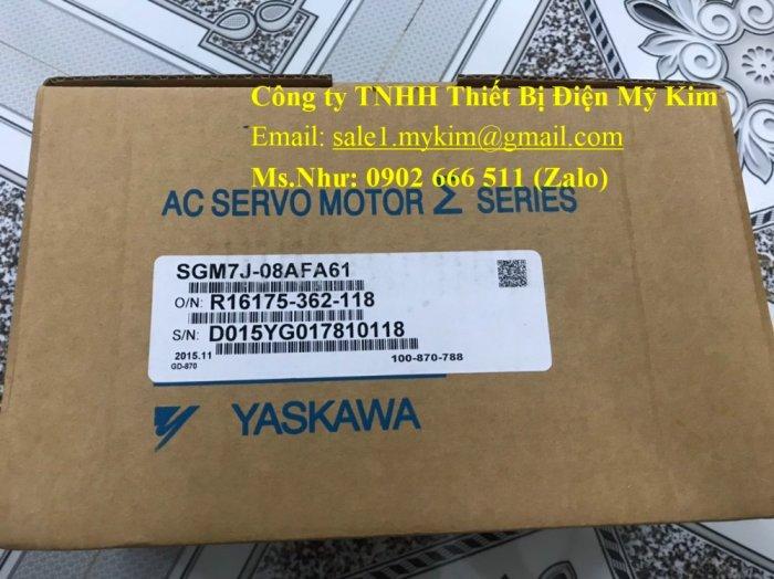 Servo Drive Yaskawa SGM7J-08AFA61 chính hãng - Thiết Bị Điện Mỹ Kim3