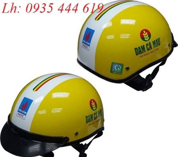 Sản xuất mũ bảo hiểm Quảng Nam, in logo mũ bảo hiểm Quảng Nam1
