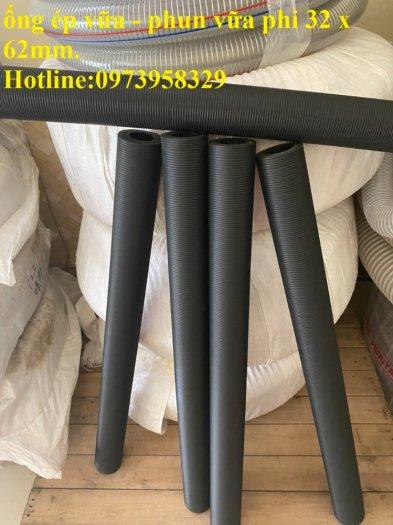 Cơn Lốc siêu giảm giá ống cao su phun vữa - bơn bê tông phi 40 x 72 mm , phi 50 x 82 mm , giảm giá mùa dịch33