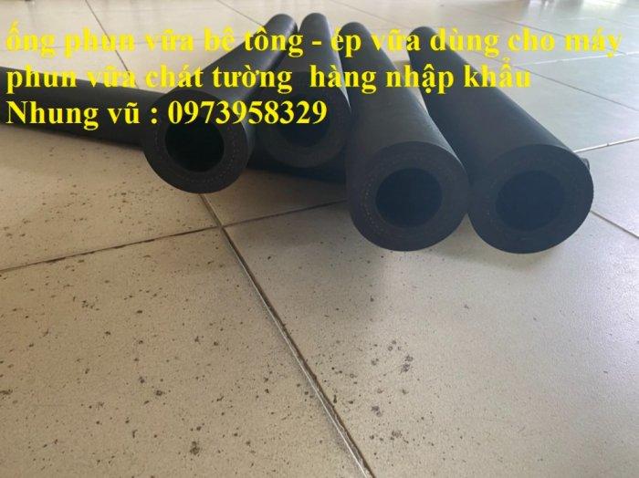 Cơn Lốc siêu giảm giá ống cao su phun vữa - bơn bê tông phi 40 x 72 mm , phi 50 x 82 mm , giảm giá mùa dịch32