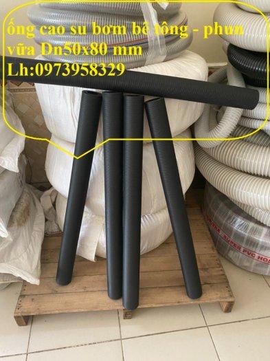 Cơn Lốc siêu giảm giá ống cao su phun vữa - bơn bê tông phi 40 x 72 mm , phi 50 x 82 mm , giảm giá mùa dịch29