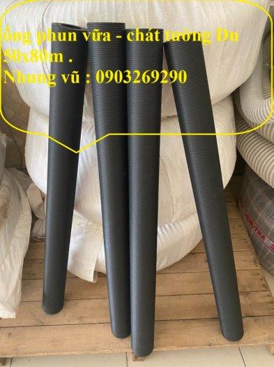 Cơn Lốc siêu giảm giá ống cao su phun vữa - bơn bê tông phi 40 x 72 mm , phi 50 x 82 mm , giảm giá mùa dịch27