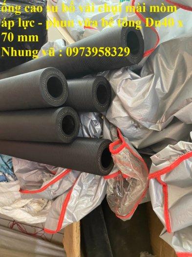 Cơn Lốc siêu giảm giá ống cao su phun vữa - bơn bê tông phi 40 x 72 mm , phi 50 x 82 mm , giảm giá mùa dịch26
