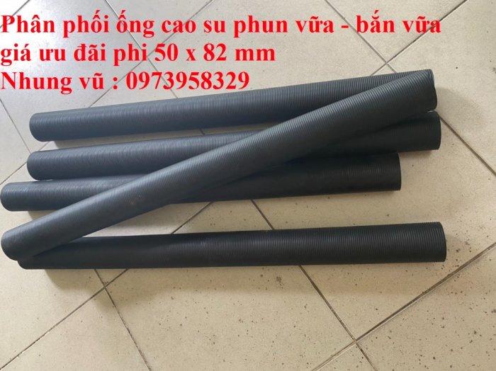 Cơn Lốc siêu giảm giá ống cao su phun vữa - bơn bê tông phi 40 x 72 mm , phi 50 x 82 mm , giảm giá mùa dịch11