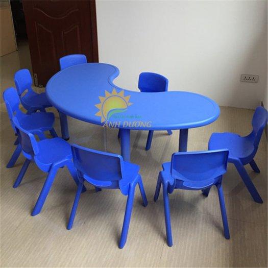 Bàn và ghế nhựa nhập khẩu cho trường mầm non, lớp mẫu giáo, nhóm trẻ, gia đình8