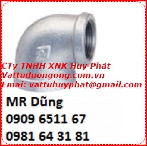Co ren kẽm DN80 ( phi 90)1
