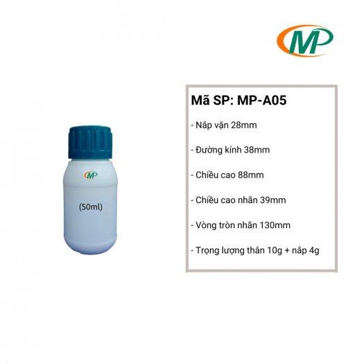 Chai nhựa 50ml giá rẻ, chai nhựa 50ml uy tín, chai nhựa 50ml chất lượng.4