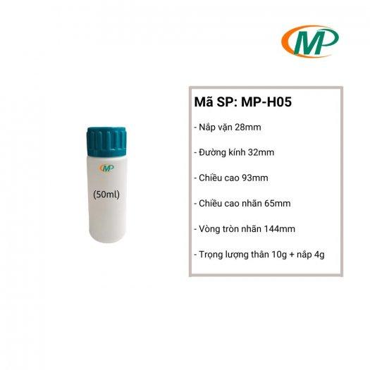 Chai nhựa 50ml giá rẻ, chai nhựa 50ml uy tín, chai nhựa 50ml chất lượng.2