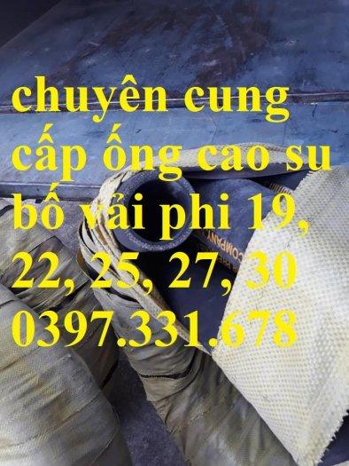 Ống cao su bố vải phi 22, phi 25, phi 27, phi 32 giá sỉ tại Hà Nội4