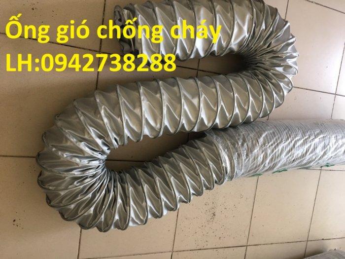 Bán ống gió vải chống cháy chịu nhiệt độ cao giá ưu đãi, giao hàng toàn quốc2