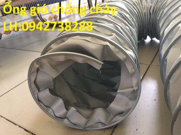 Bán ống gió vải chống cháy chịu nhiệt độ cao giá ưu đãi, giao hàng toàn quốc1