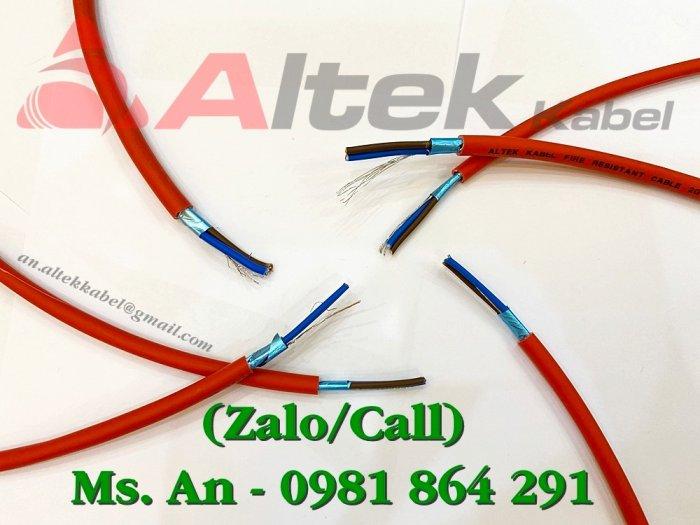 Thông tin về Cáp chống cháy chống nhiễu Altek Kabel2
