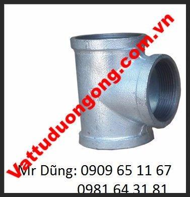Tê Ren Kẽm DN40 ( Phi 49)0