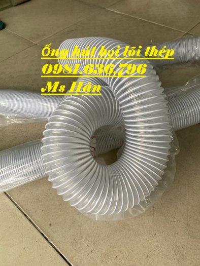 Ống hút bụi bằng nhựa PVC lõi thép phi 50,60,75,100,125,150,200,25010