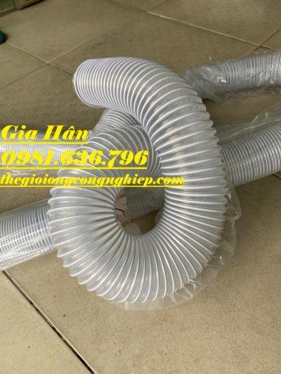 Ống hút bụi bằng nhựa PVC lõi thép phi 50,60,75,100,125,150,200,2509