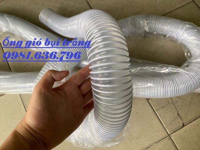 Ống hút bụi bằng nhựa PVC lõi thép phi 50,60,75,100,125,150,200,2508