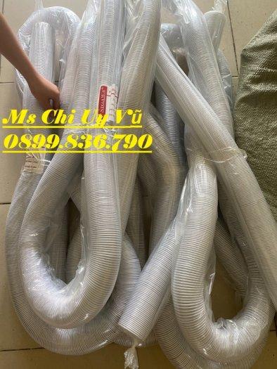 Ống hút bụi bằng nhựa PVC lõi thép phi 50,60,75,100,125,150,200,2501