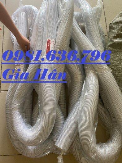Ống hút bụi bằng nhựa PVC lõi thép phi 50,60,75,100,125,150,200,2500