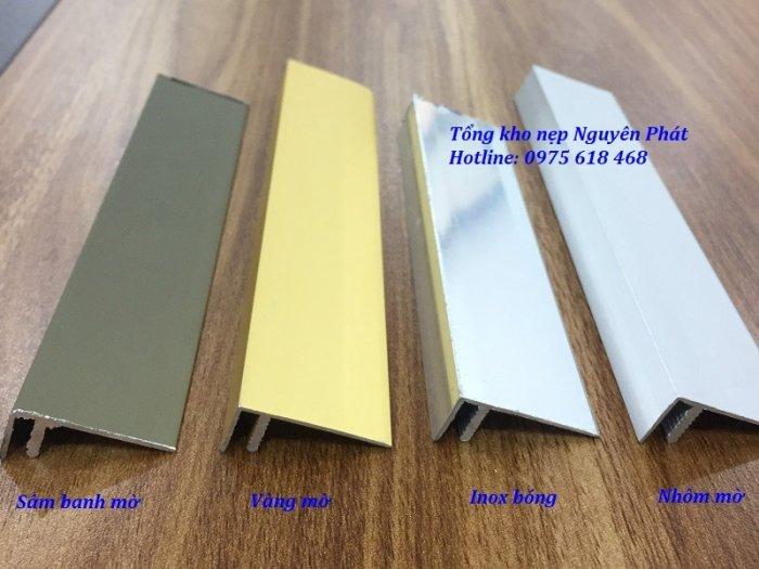 Nẹp F kết thúc sàn gỗ, nẹp nhôm chữ F3