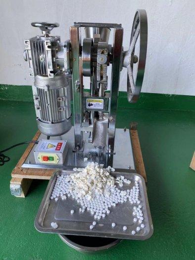 Máy dập viên nén 1 chày 1,5T, máy nén viên thuốc 1,5 tấn2