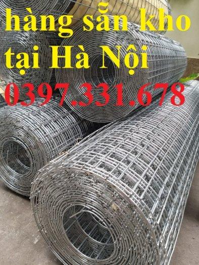 Lưới thép hàn mạ kẽm 3ly dạng cuộn sẵn kho tại Thanh Trì3