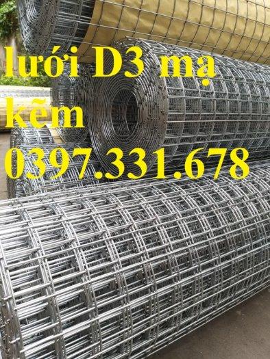Lưới thép hàn mạ kẽm 3ly dạng cuộn sẵn kho tại Thanh Trì2