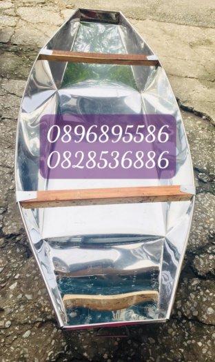Thuyền tôn câu cá, Thuyền inox chèo tay, Thuyền 2 người câu thả thính8