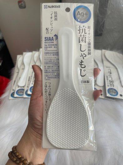 Combo 2 vá múc cơm made in JAPAN chống dính cơm, kháng khuẩn siêu bền1