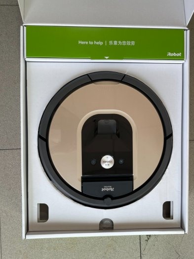 Robot Hút Bụi iRobot Roomba 961 siêu VIP , kết nối WIFI làm sạch nhanh mạnh10