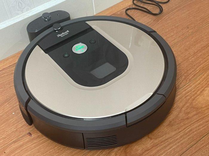 Robot Hút Bụi iRobot Roomba 961 siêu VIP , kết nối WIFI làm sạch nhanh mạnh5