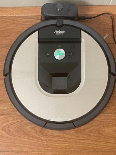 Robot Hút Bụi iRobot Roomba 961 siêu VIP , kết nối WIFI làm sạch nhanh mạnh2