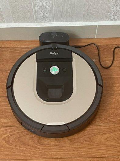 Robot Hút Bụi iRobot Roomba 961 siêu VIP , kết nối WIFI làm sạch nhanh mạnh1