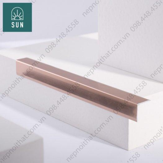 Nẹp nhôm trang trí - Nẹp nhôm sàn gỗ - Nẹp chống trượt - Nẹp V nhôm - Nẹp T16