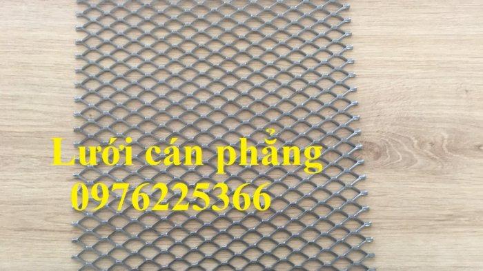Lưới mắt cáo cán phẳng, lưới dập giãn cán phẳng, lưới thép hình thoi0