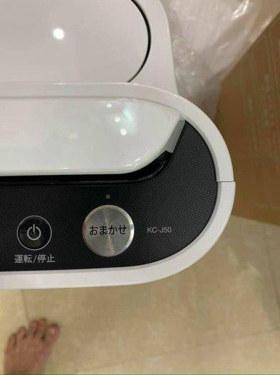 Máy lọc không khí khử mùi bù ẩm SHARP KC-J50 new 100% hàng nội địa Nhật1