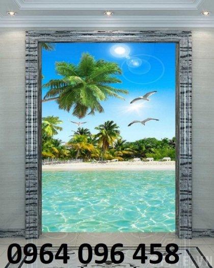 Tranh cảnh biển - tranh gạch 3d cảnh biển - TBVC32