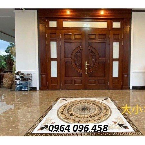 Gạch thảm - thảm gạch lát nền phòng khách - GKN546