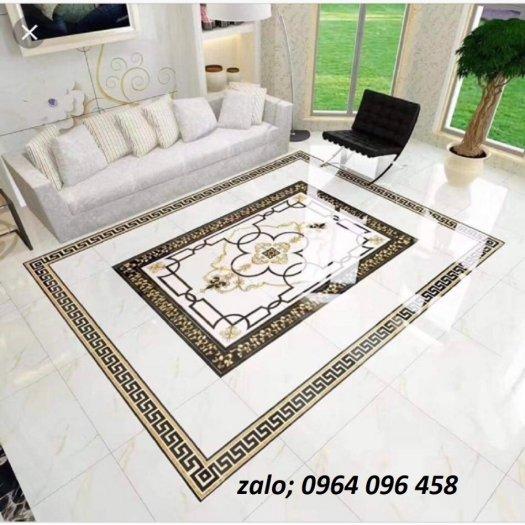 Gạch thảm - thảm gạch lát nền phòng khách - GKN543