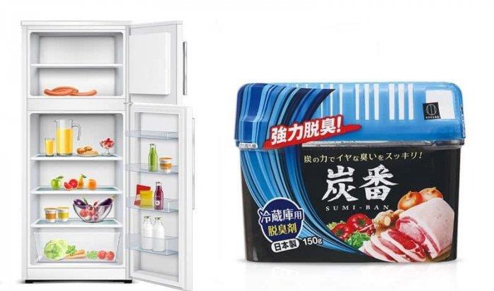 Hộp khử mùi tủ lạnh Sumi ban 150gram made in JAPAN khử mùi siêu hiệu quả4
