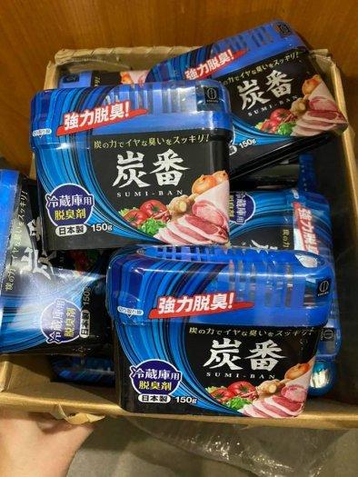 Hộp khử mùi tủ lạnh Sumi ban 150gram made in JAPAN khử mùi siêu hiệu quả3