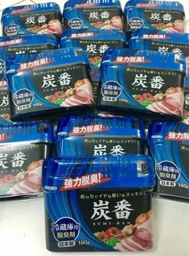 Hộp khử mùi tủ lạnh Sumi ban 150gram made in JAPAN khử mùi siêu hiệu quả1