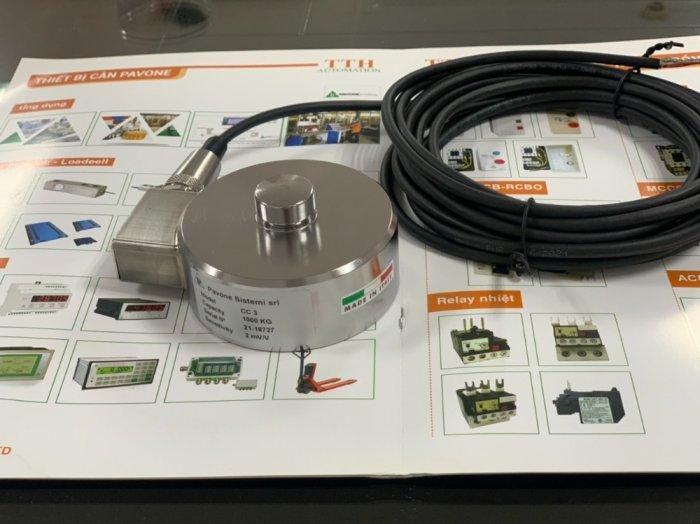Loadcell trụ nén CC3 sản xuất tại Pavone - Italy. Nhập khẩu bởi Cty TNHH tự động hóa TTH Việt Nam : 09153226922