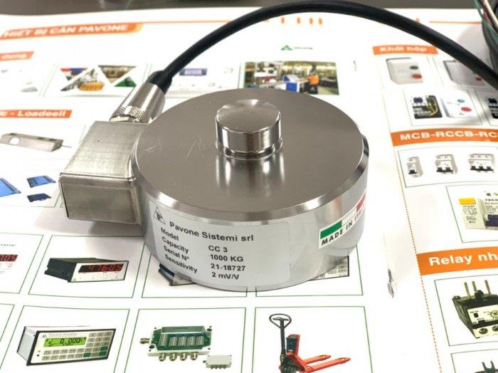 Loadcell trụ nén CC3 sản xuất tại Pavone - Italy. Nhập khẩu bởi Cty TNHH tự động hóa TTH Việt Nam : 09153226921